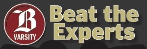 BVarsity Football Beat the Experts 2018